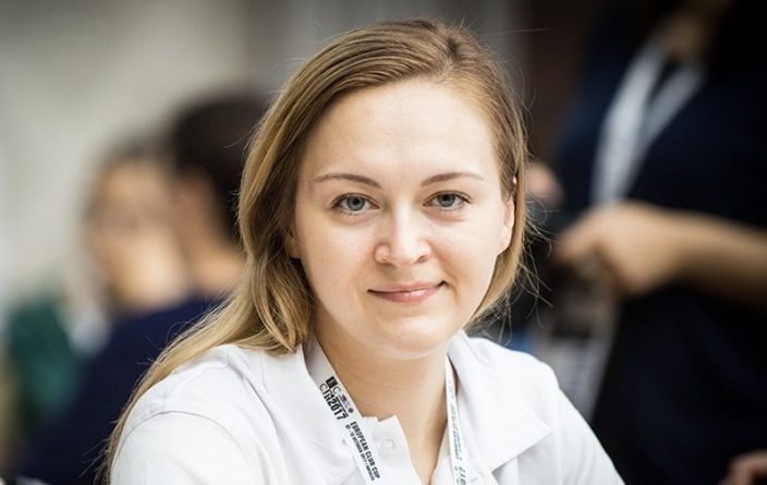 Anna Ushenina wins Women's Speed Chess Championship